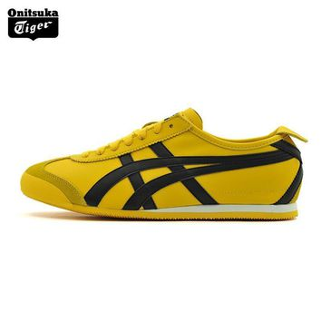 Onitsuka Tiger MEXICO 66 Men Sport Shoes Classical Color Breathable Lovers Shoes Lightweight Women Sneakers DL408-0490