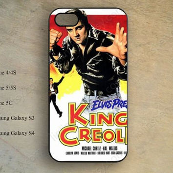 Elvis Presley poster Phone case,iphone 5s case,iPhone 5c Case,iphone 5 case,iphone 4 case,samsung galaxy S4 S3,hipster iPhone case X-166