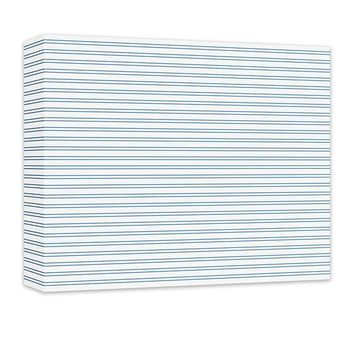 Horizontal Stripes Pattern Canvas and Print Wall Art