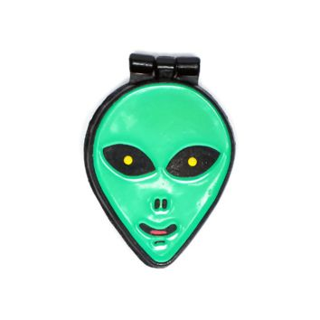 No Bad Trips Alien Folding Moving Pin