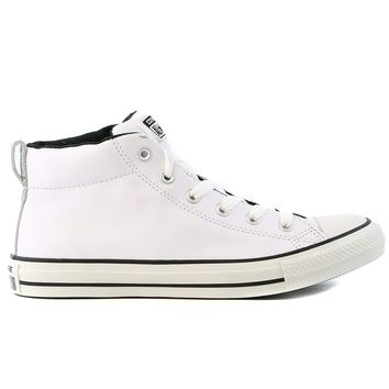 Converse Men's Street Leather Mid Top Sneaker