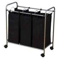 Household Essentials Laundry Sorter with 3 Removable Bags