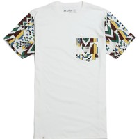 Lira Tribe Pocket T-Shirt - Mens Tee - White