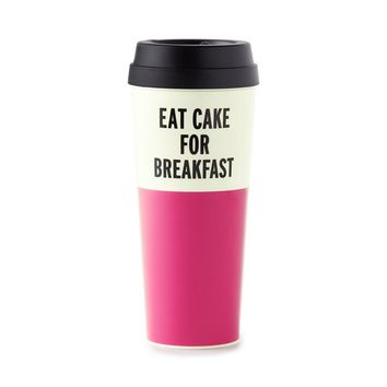 Kate Spade New York Eat Cake For Breakfast Thermal Mug - House of Fraser