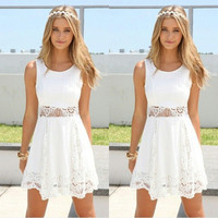 New Fashion Summer Sexy Women Mini Dress Casual Dress for Party and Date = 4432097476