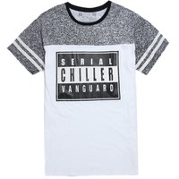 Vanguard Parental Noise T-Shirt - Mens Tee - Grey