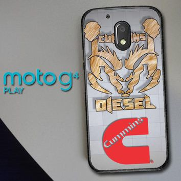 Cummins Logo X2265 Motorola Moto G4 Play Case