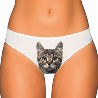 Cat Underwear- Custom Underwear Panties Thongs Undies Lingerie
