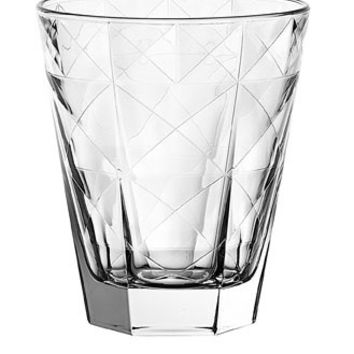 Majestic Gifts E63829-S6 Quality Glass Double Old Fashioned Tumbler 11.5 oz Set of 6