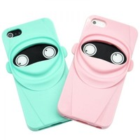 Generic Cute Pink Ninja Phone Case For iPhone 5