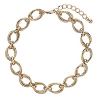 Double Chain Collar - Jewellery - Accessories - Miss Selfridge
