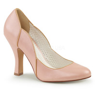 Pin Up Couture Pink Smitten Retro Pumps