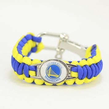 GOLDEN STATE WARRIORS BASKETBALL SPORTS BRACELET
