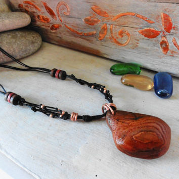 Bark Wood Jewelry, Natural Tree Bark, Wooden Necklace, Gift for All, Original Nature, Natural Gifts, one-of-a-kind gifts