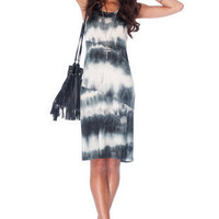 Undyeing Love Dress in Black and White :: tobi