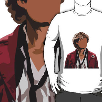 Aaron Tveit as Enjolras silhouette  by jojoballz