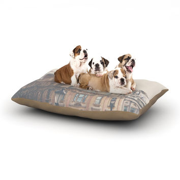 "Laura Evans ""London Town"" Brown Dog Bed"