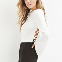 Boxy Crisscross-Side Top