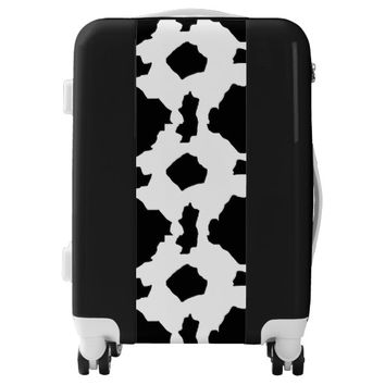 Cow Print Luggage