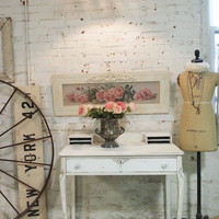 Painted Cottage Shabby Romantic  Paris White Vanity VAN21