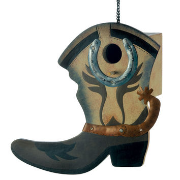 Western Boot Birdhouse