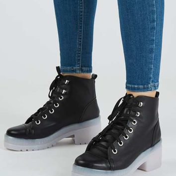 KOOL Flat Lace Boot
