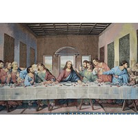 Tache 55 x 27 The Last Supper Woven Jacquard Tapestry Wall Hanging Art (9148)