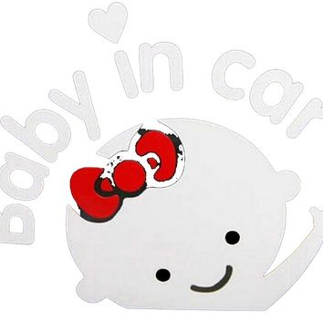 Baby In Car Stickers Decoration Wall Sticker