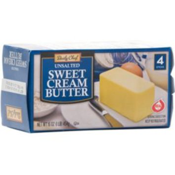 Daily Chef Unsalted Sweet Cream Quarters (4 lb.) - Sam's Club
