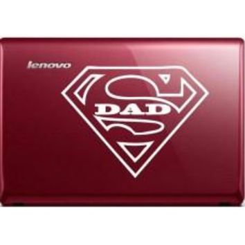 superman dad Automobile Car Window Decal Tablet PC Sticker Automobile Window Wall Laptop Notebook Etc.
