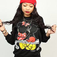 Breezy Excursion Squeezing Cheeks Crew Black Womens : Karmaloop.com - Global Concrete Culture