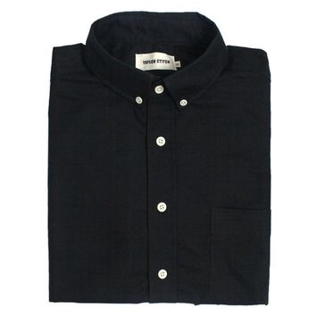 Taylor Stitch - The Jack in Black Donegal Shirt