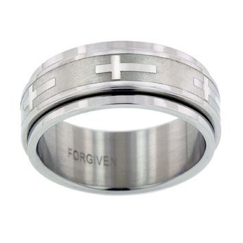 Spinner Cross Ring