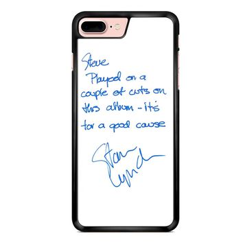 Tom Petty And The Heartbreakers Signature iPhone 7 Plus Case