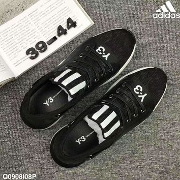 CREY1O Adidas ND Y-3 Man Black Casual Running Sports Shoes H-ZPMY-ZZQGDL
