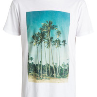 Shop Dyed Hidden Logo Tee by Quiksilver (#EQYZT03406s) on Jack's Surfboards