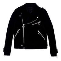 Marc By Marc Jacobs Black Zip Biker Jacket - Black Zip Biker Jacket