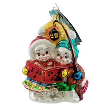 Christopher Radko The First Snow El Glass Ornament