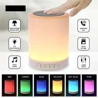 LED Night Light with Bluetooth Speaker