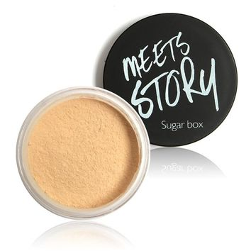 Sugarbox face powder glitter