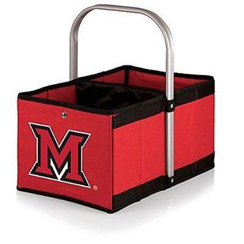 PICN-546001003340-NCAA Miami Ohio Redhawks Urban Market Basket, Red