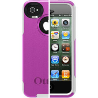 Walmart: OtterBox Commuter Series for iPhone 4S, Hot Pink Plastic/White Silicone
