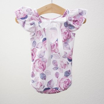 Arabella Leotard- Long Sleeve or Flutter Sleeve + Josephine Leggings for Babies and Toddlers