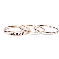 Happy Ring Set