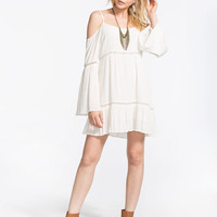 PATRONS OF PEACE Cold Shoulder Dress | Short Dresses