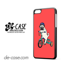 Pug Bicycle For Iphone 5C Case Phone Case Gift Present