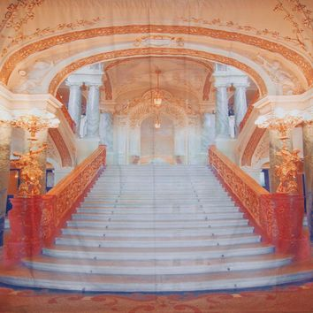 Coral Staircase Backdrop 10x10 LCPCSL329 - LAST CALL