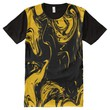 Men's American Apparel All-Over Printed T-shirt All-Over Print T-shirt