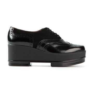 Robert Clergerie platform lace-up shoes