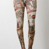Egyptian Philosophy Leggings